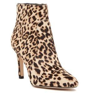 Sam Edelman Olette Leopard Print Ankle Booties 9